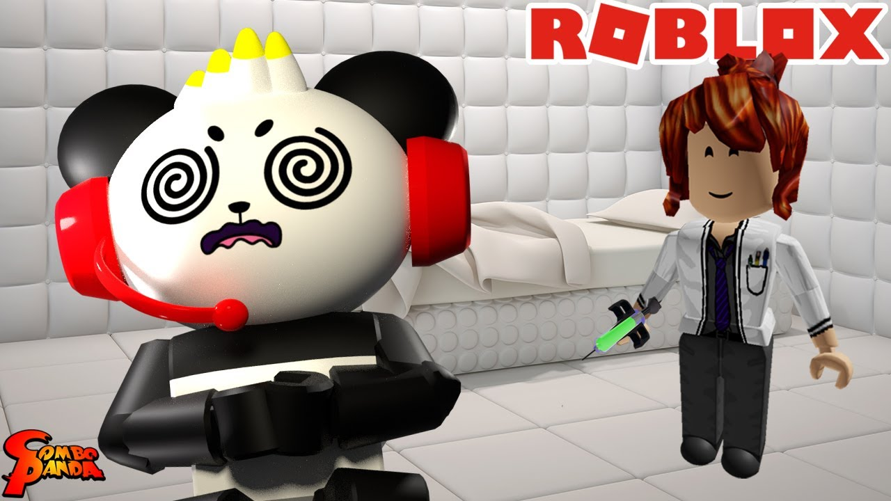 Escape the CRAZY HOUSE! Let's Play Roblox Asylum Escape with Combo Panda