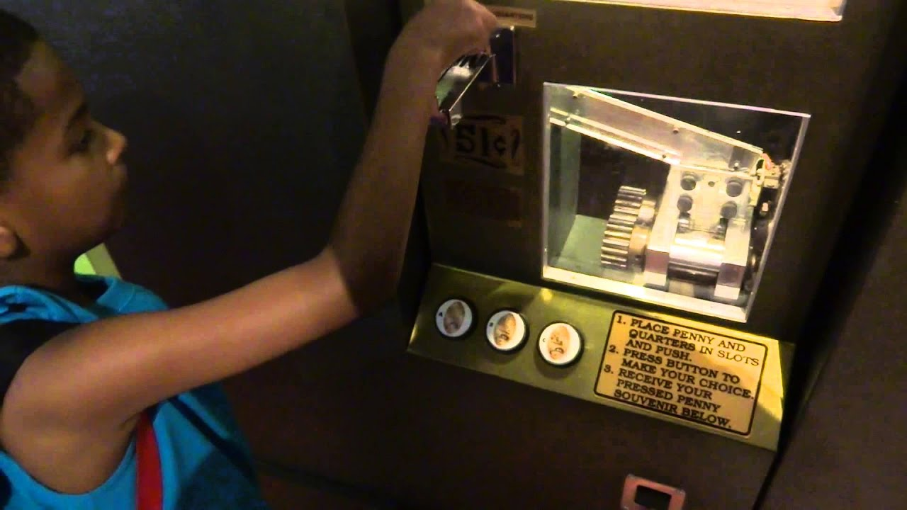 Press your own penny into a souvenir design walt disney for Create your own penny