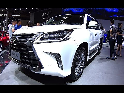Refreshed 2016 2017 Lexus Lx 570 V8 5 7 Liter New Lexus Lx 570