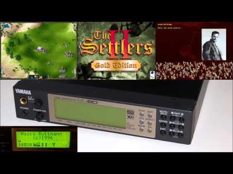 The Settlers II - XG MIDI Soundtrack - Yamaha MU80