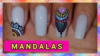 DECORACIÓN DE UÑAS MANDALAS ♥♥♥ NailArt By Andy