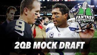 Fantasy Football 2017 - Live MOCK Draft Episode + Draft Strategy - Ep. #388 Free HD Video