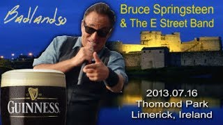 Bruce Springsteen - Live In Limerick 2013-07-16 (HD) Documentary