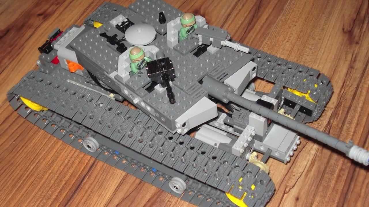 lego remote control tank youtube. Black Bedroom Furniture Sets. Home Design Ideas