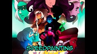 Steven Universe Speed Painting -  ALL TOGETHER