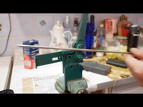 """Гибочное приспособление """"Блоха"""" для нерж. прутка 6 мм. Homemade Bending Fittings For 6 Mm."""