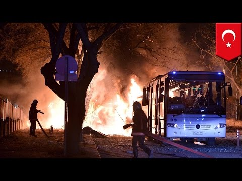 Ankara terrorist attack: Car bomb kills at least 18 in Turkey capital - TomoNews