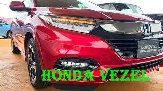 Honda Vezel - интересный гибрид от Хонды 2020 модельного года