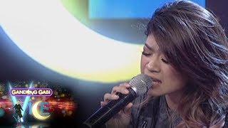 GGV: Mary Gidget Dela Llana sings on GGV stage