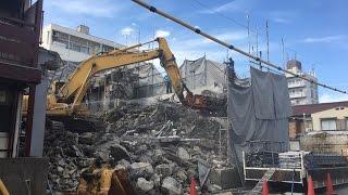 名古屋市南区RC造3階建てマンション解体工事|名古屋・愛知・岐阜・三重の解体なら【アヴァンセ】
