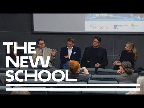 Panel Discussion | Housing: Left, Right & Center | Parsons School of Design