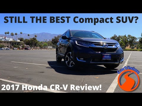 2017 Honda CR-V Review and Road Test - Why it's the best small SUV money can buy