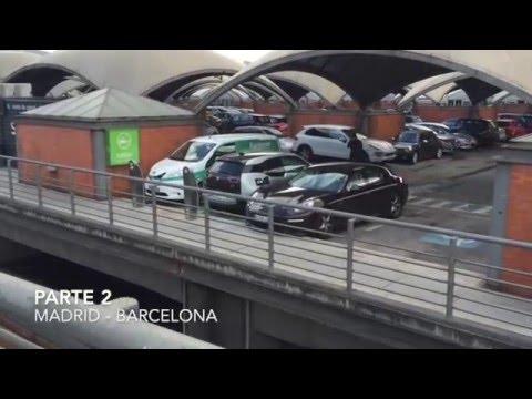 Viaje Barcelona Madrid con un BMW i3 REX
