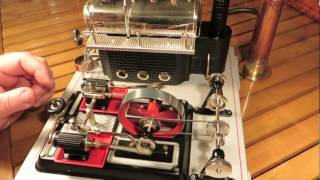 Wilesco D22 Model Steam Engine