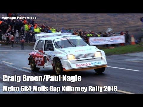 Craig Breen Metro 6R4 Killarney Rally 2018 Molls Gap