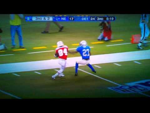 Patriots touchdown