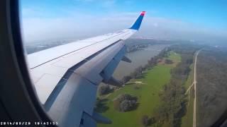 SunExpress Landing Vienna Boeing 737-800