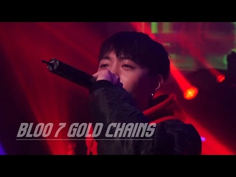 161216 bloo(블루) - 7 gold chains l NewBloodParty