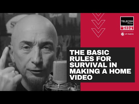 The basic rules for survival in making a home video
