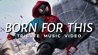 SPIDER-MAN: INTO THE SPIDER VERSE 「 MMV 」 Born For This Thumb