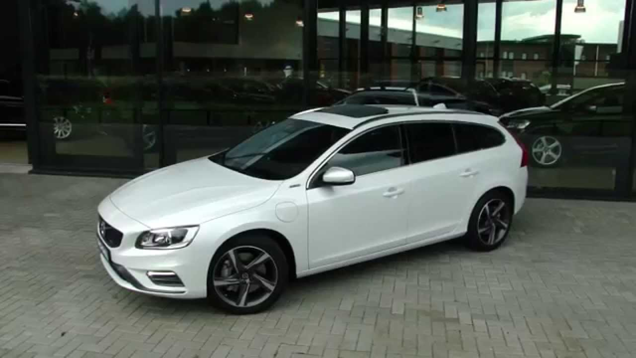 volvo v60 d6 hybrid r design youtube. Black Bedroom Furniture Sets. Home Design Ideas