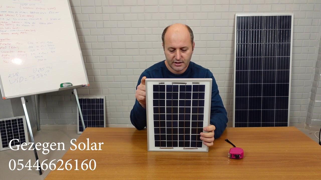 CD ve LED ile GÜNEŞ PANELİ YAPIMI - SOLAR PANEL YAPIMI - How to make solar cell