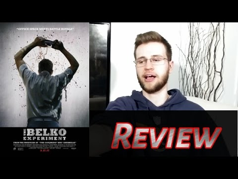 I Vehemently Disagree on The Belko Experiment - Movie Review