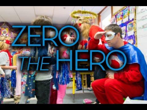 """Zero the Hero"" Visits Derby Academy"