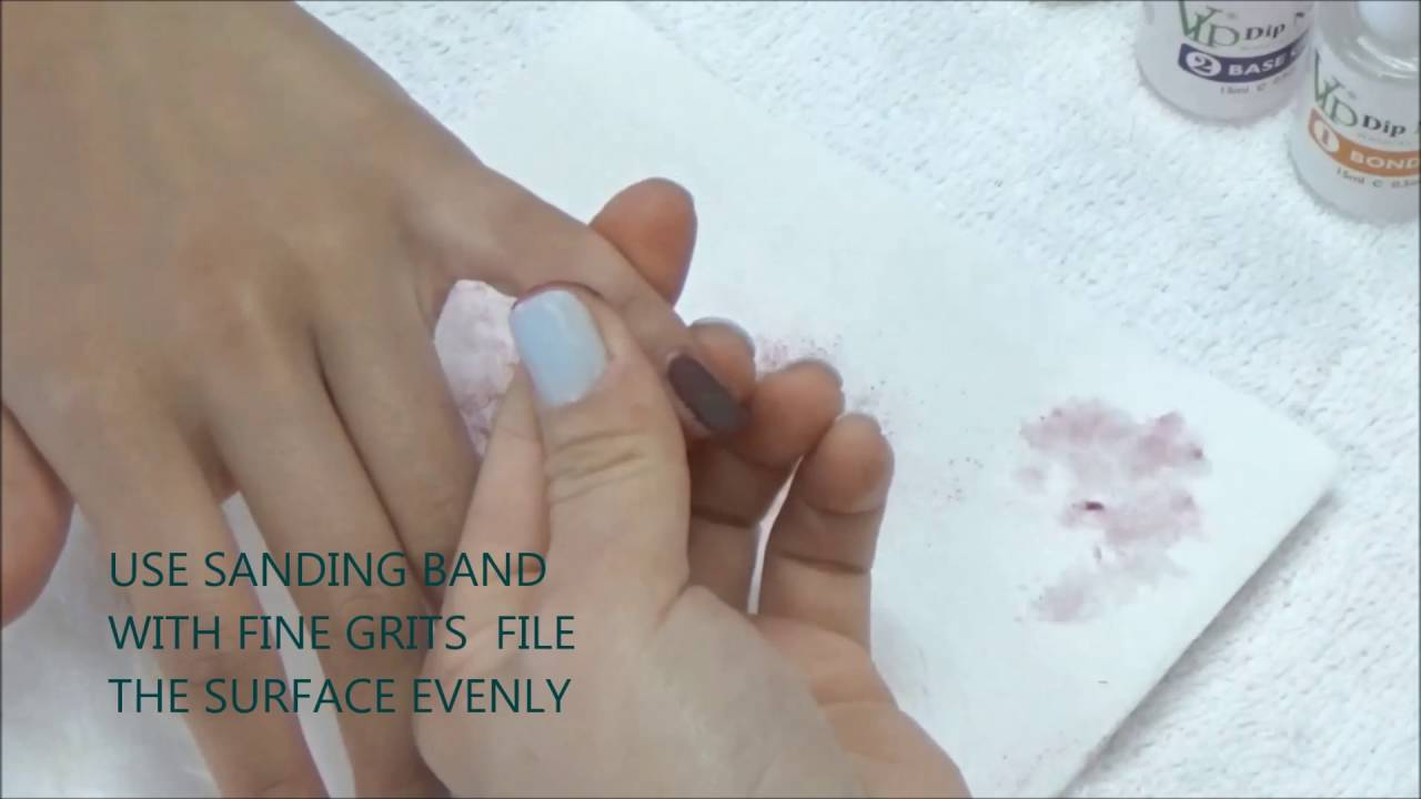 VIP DIP COLOR ON NATURAL NAILS: How To Apply ? - YouTube
