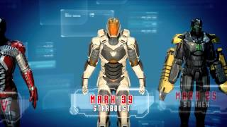 Iron Man 3 - The Official Mobile Game - Stark Industries trailer | HD
