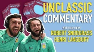 Unclassic Commentary: Snodgrass and Lansbury on the mic