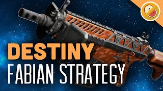 DESTINY Fabian Strategy Fully Upgraded Exotic Auto Rifle Review (The Taken King Exotic)