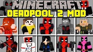 Minecraft DEADPOOL 2 MOD! l BECOME DEADPOOL, FIGHT CABLE, JUGGERNAUT & MORE! l Modded Mini-Game
