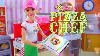 Unbox Daily: Barbie Pizza Chef Doll & Play Set PLUS Barbie Bakery Chef Doll & Play Set