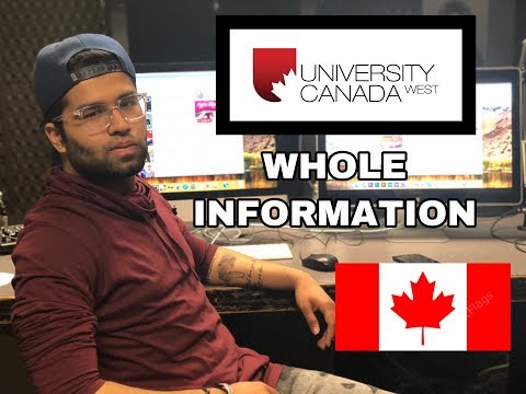 UNIVERSITY CANADA WEST UCW SEPTEMBER  2019 Education,schedule And Fees