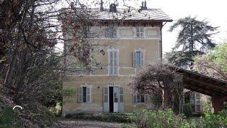 In vendita la villa di Giovanni Giolitti a Cavour: la telecamera entra nelle stanze