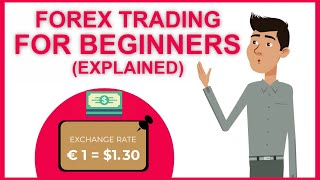 Forex Trading For Beginners (EXPLAINED IN PLAIN ENGLISH!)