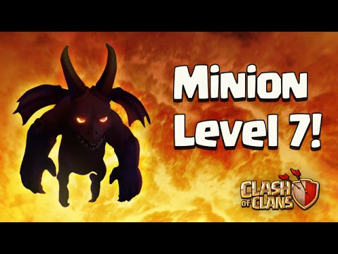 Clash of Clans - Minion Level 7 And Reduced Boosting Cost | Sneak Peak #8 | December 2015 Update