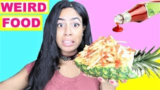 WEIRD Food Combinations People LOVE!! Eating  DIY  Foods
