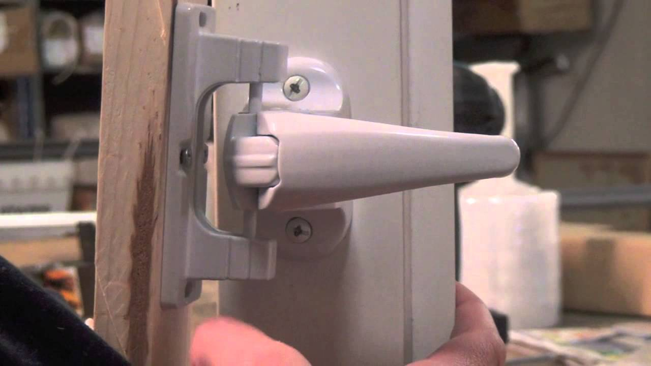 Andersen Forever Storm Door Hardware Youtube