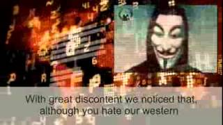 Anonymous message to the ISIS
