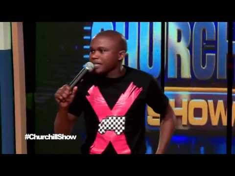 Chipukeezy On churchiill show ( The Best women to marry )
