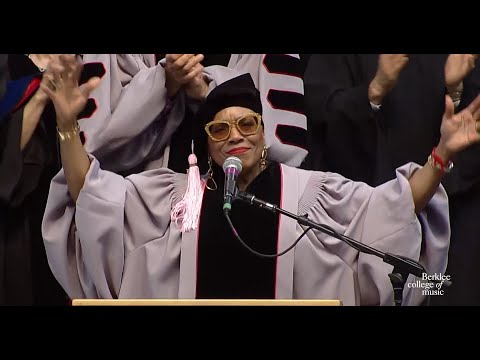 Dee Dee Bridgewater Berklee Commencement Address 2015