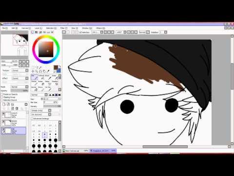 Tumblr Cartoon Icon - Speedpaint HD