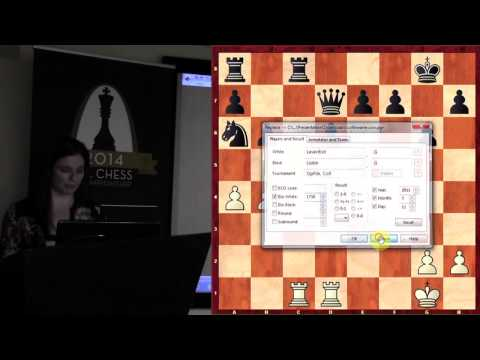 Chess Collinearity - WGM Jennifer Shahade - 2014.07.30