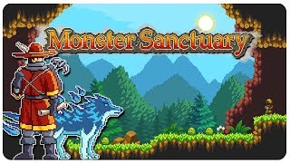 [Free Demo] Go, Not Suicune! (Pokemon Metroidvania?) - Monster Sanctuary Gameplay