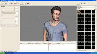 Character motion testing on Quest3D for Lumion