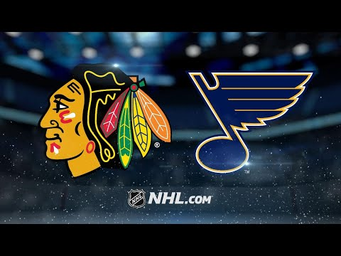 Blackhawks edge Blues on Keith's late goal, 4-3