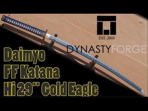 """Daimyo FF Katana Hi 29"""" Gold Eagle - Quick Review"""