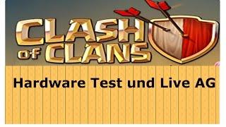 Hardwaretest & Live AG | Clash of Clans | [German Deutsch HD+]